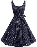 bbonlinedress 1950er Vintage Polka Dots Pinup...